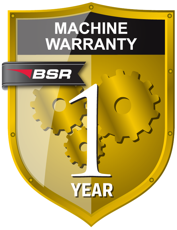 Machinery warranty