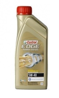 Castrol Edge Turbo Diesel 5W-40. Manufacturer product no.: 1535B3