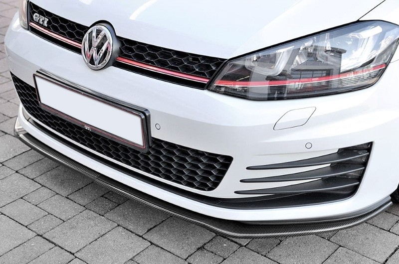 Front spoiler, carbon. Manufacturer product no.: LSVW-G7-06-CA