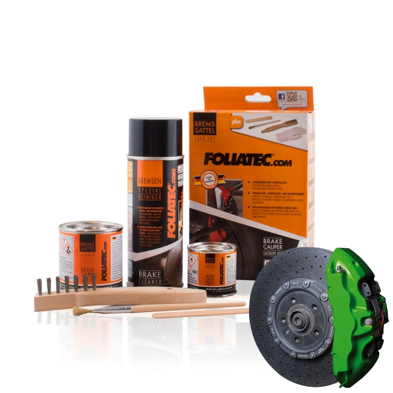 Foliatec Brake Caliper Lacquer Set, Power green. Manufacturer product no.: 2166