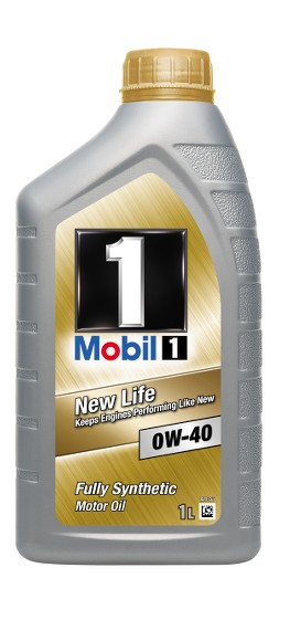 Mobil 1 0W-40 New Life 1L BMW X5-series (E53) 4.6 iS. Manufacturer product no.: 153668